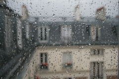 Paris in drops Royalty Free Stock Photos