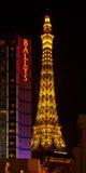 Paris e casino e hotéis Bally Fotos de Stock