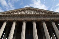 Paris-Eglise de la Madeleine Royalty Free Stock Photo