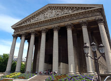 Paris - Eglise de la Madeleine Stock Photography