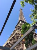 Paris eifeltower in france royalty free stock image