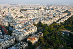 Paris from the Eiffel Tower Stock Images
