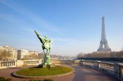 Paris eiffel tower Stock Photography