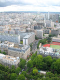 Paris from Eiffel Tower Royalty Free Stock Images