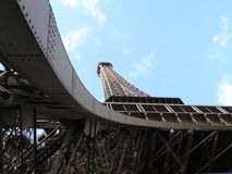 Paris - Eiffel Tower. Shot from below Stock Photo