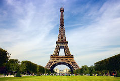 Paris - the Eiffel Tower Royalty Free Stock Photography
