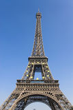 Paris Eiffel tower. Paris the Eiffel tower with stars Royalty Free Stock Photos