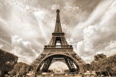 Paris - Eiffel Tower stock photo