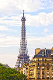 Paris and the Eiffel Tower stock photography