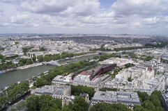 Paris from Eiffel Tower Royalty Free Stock Image