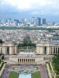 Paris from Eiffel Tower Royalty Free Stock Photos
