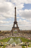 Paris. The Eiffel Tower in Paris Royalty Free Stock Image