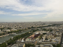 Paris from the Eiffel Tower Stock Photos