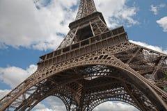 Paris - Eiffel tower. And blue sky Stock Photos