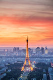 Paris - Eiffel Tower, Buildings Royalty Free Stock Images