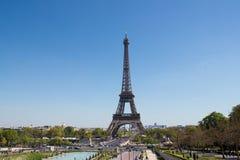 Paris. Eiffel Tower in centre of Paris Stock Image