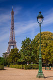 Paris Eiffel Tower. From Champs de Mars Royalty Free Stock Images