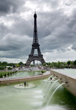 Paris and Eiffel Tower Royalty Free Stock Image