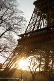 Paris. The Eiffel tower, France Stock Images