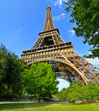 Paris Eiffel Tower France. Shoot taken with canon 7D stock illustration