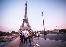Paris Eiffel Tower Royalty Free Stock Photo