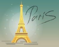 Paris Eiffel Tower Icon. Royalty Free Stock Image