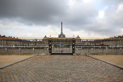 Paris, Eiffel Tower, Military scool. Stock Photography