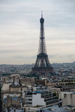 Paris Eiffel Tower Overview Royalty Free Stock Photos