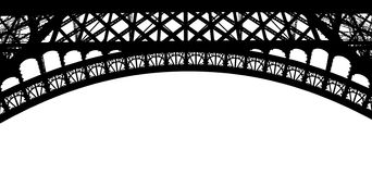 Paris, Eiffel Tower particular Royalty Free Stock Photography