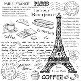 Paris Eiffeltorn Arkivbilder