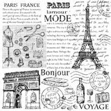 Paris Eiffeltorn arkivfoto