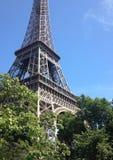 Paris Eiffeltorn Arkivfoton