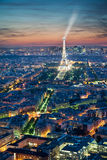 Paris, Eiffelturm Stockfoto
