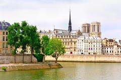 Paris - eine Ansicht Stockbild