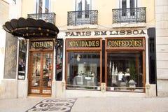 Paris em Lisboa. LISBON, PORTUGAL- January 11th, 2015: Paris em Lisboa in Lisbon on the 11th of january 2015 Lisbon, Portugal. Paris em Lisboa is a high quality Royalty Free Stock Photo