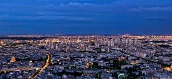Paris em a noite Foto de Stock Royalty Free