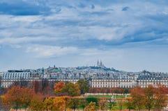 Paris en automne Images libres de droits