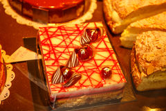 Paris end sweet pastry. Royalty Free Stock Images
