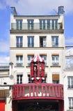 Paris, entrée auguste du fard à joues 18,2013-Moulin à Paris Images libres de droits