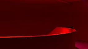 Paris - escadaria vermelha da cidade da arquitetura Foto de Stock Royalty Free