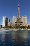 Paris et les hôtels de Ballys à Las Vegas, nanovolt le 20 mai 2013 Image stock