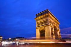 Paris etoile Stock Image