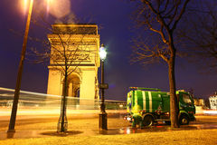 Paris etoile Stock Images