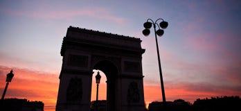 Paris etoile Stock Photos
