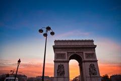 Paris etoile Royalty Free Stock Photography
