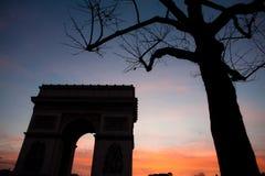 Paris etoile Stock Photography