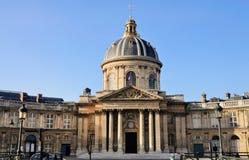 paris för bibliothfrance mazarine que Arkivbild