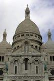 paris för coeurfrance montmartre sacre royaltyfria bilder