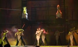 paris för damedansde drama berömd notre värld Royaltyfri Fotografi