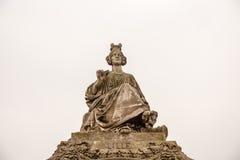 Paris, famous monuments. Street monuments, Lille. Place de la Concorde stock photography